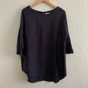 Old Navy Blue Printed Tunic